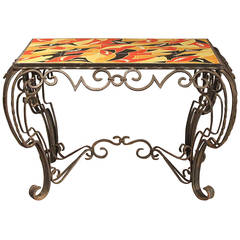 Chinese lacquer altar table for sale at 1stdibs - Petite table fer forge ...
