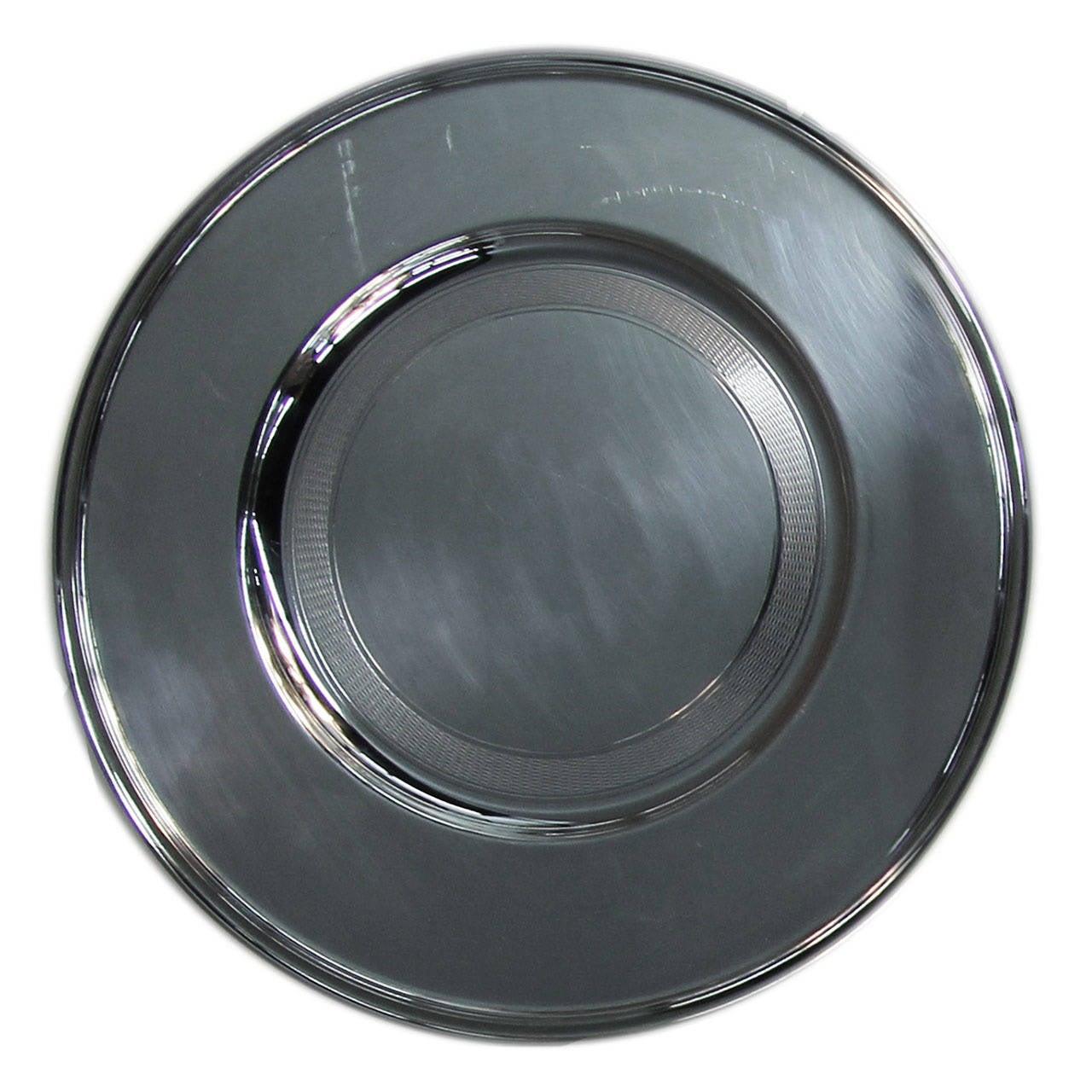 set of six christofle silver plated under plates at 1stdibs. Black Bedroom Furniture Sets. Home Design Ideas