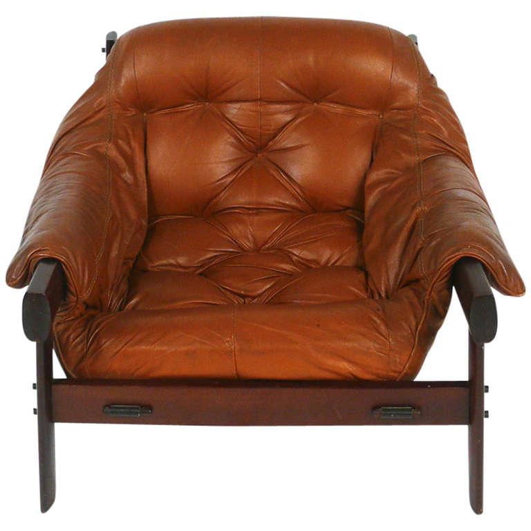 Phenomenal Percival Lafer Brazilian Lounge Chair In Carmel Brown Ibusinesslaw Wood Chair Design Ideas Ibusinesslaworg