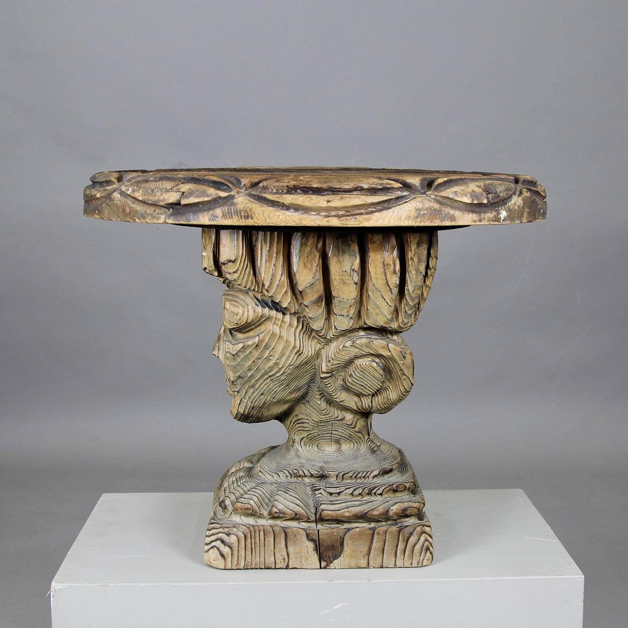 Unique sculptural side table at 1stdibs for Unique end tables