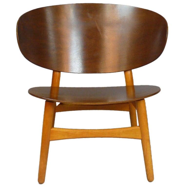 Hans Wegner Shell Chair For Fritz Hansen For Sale At 1stdibs