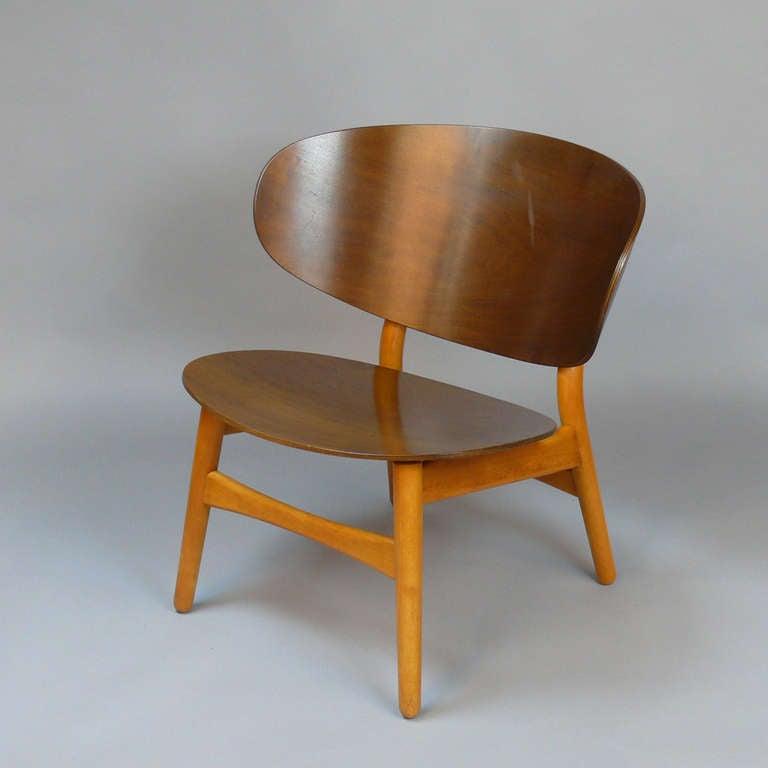 Hans Wegner Shell Chair For Fritz Hansen 3
