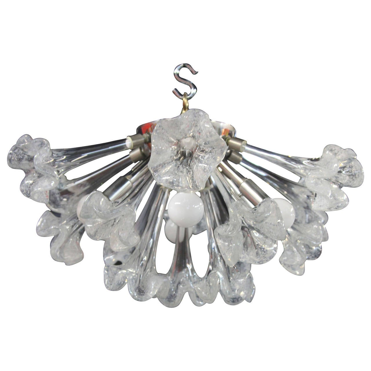 Sputnik Flush Mount Chandelier