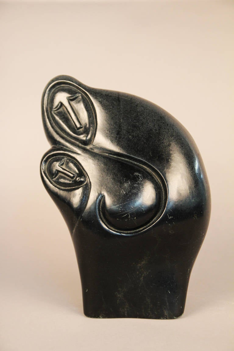African stone sculpture by zachariah njobo for sale at stdibs