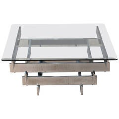 Paul Mayen for Habitat Chrome Coffee Table