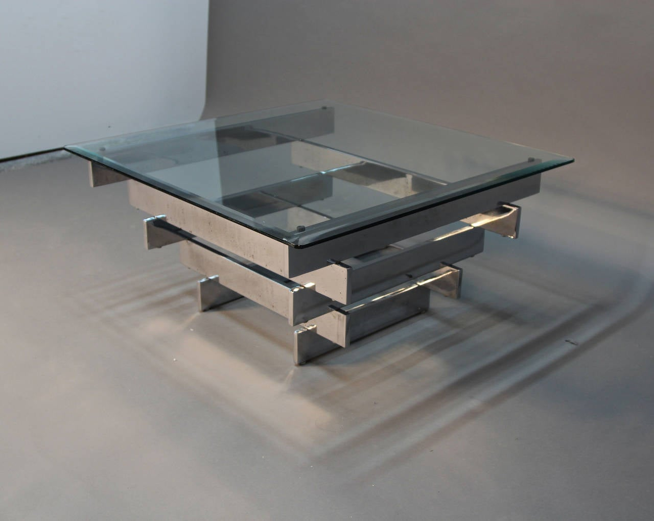 Paul mayen for habitat chrome coffee table at 1stdibs for Coffee tables habitat