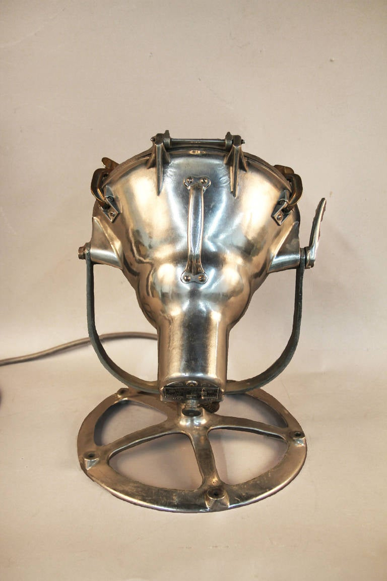 Vintage Crouse Hinds Search Light At 1stdibs