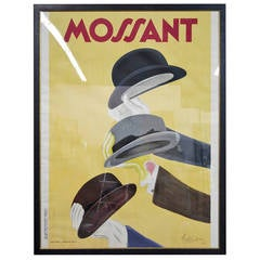 """""""Moussant"""" Leonetto Capiello Framed French Poster"""
