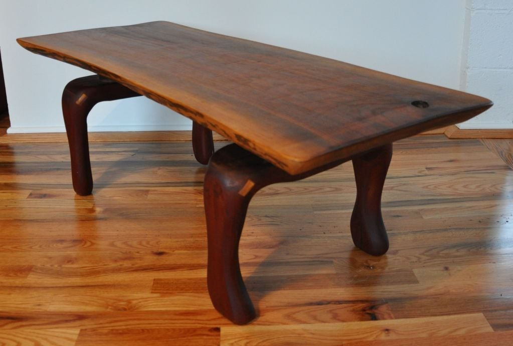 Studio Wood Coffee Table Camp At 1stdibs