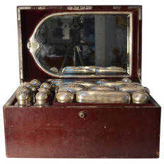 Necessaire or Traveling Case from an Italian Noble Family