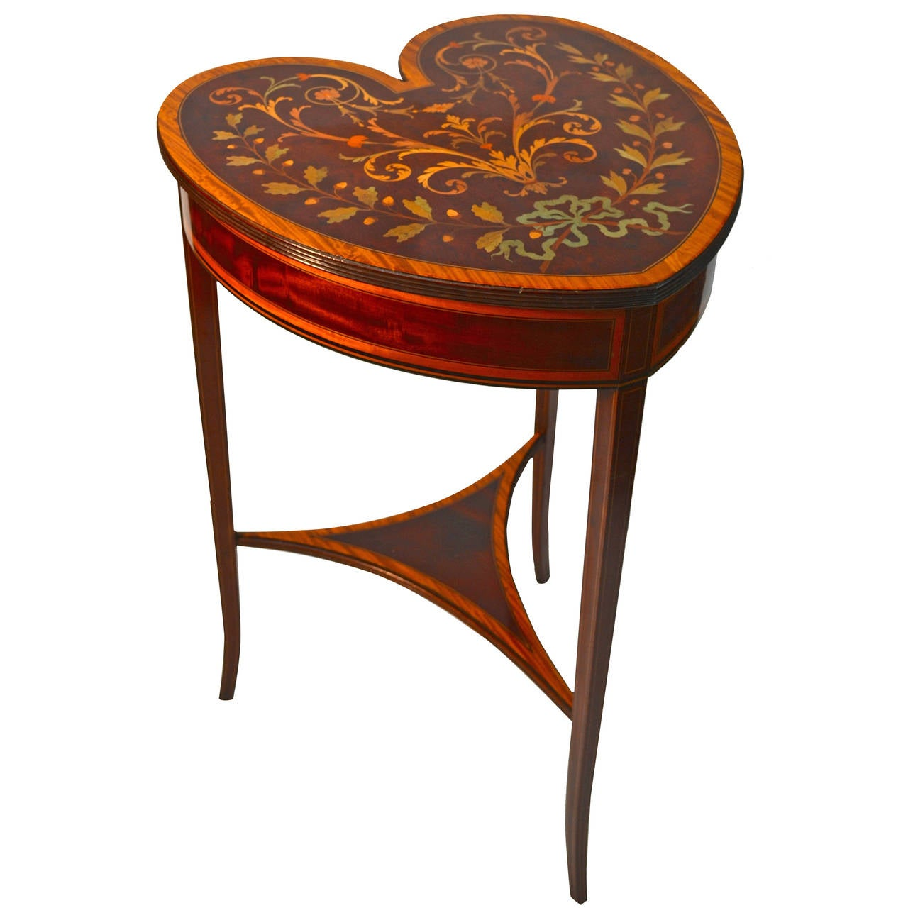Edwardian heart shaped table at 1stdibs - Archives departementales 33 tables decennales ...