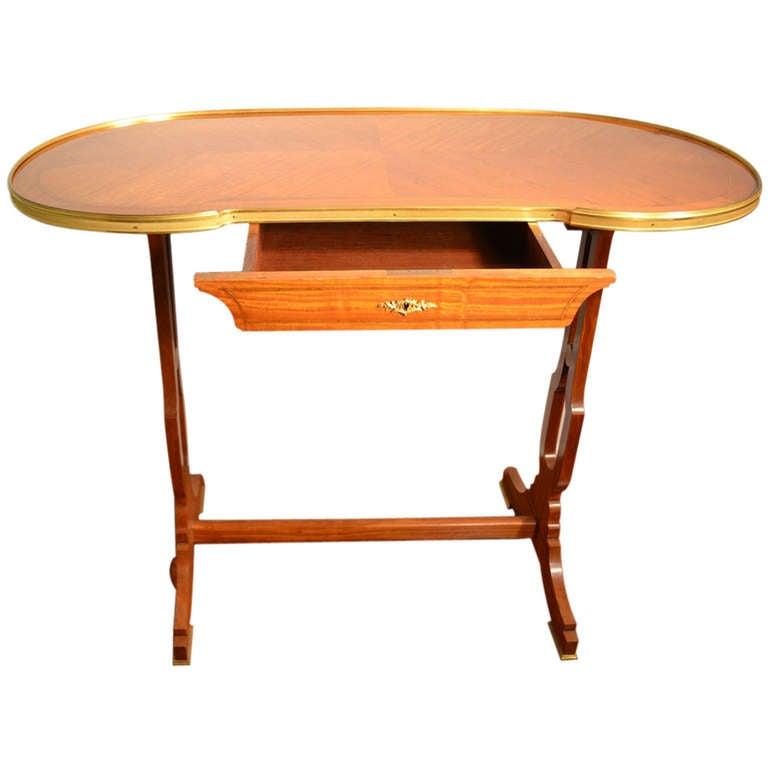 Antique French Satinwood Ladies Writing Desk At 1stdibs