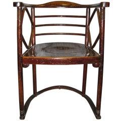 One or six original period Josef Hoffman Fledermaus chairs