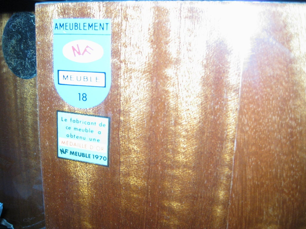 French Inlaid Vitrine Secretary Bar Desk At 1stdibs