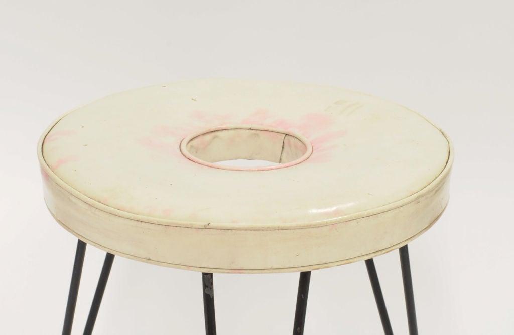 American Rare William Armburster's Donut Stool, Museum of Modern Art For Sale