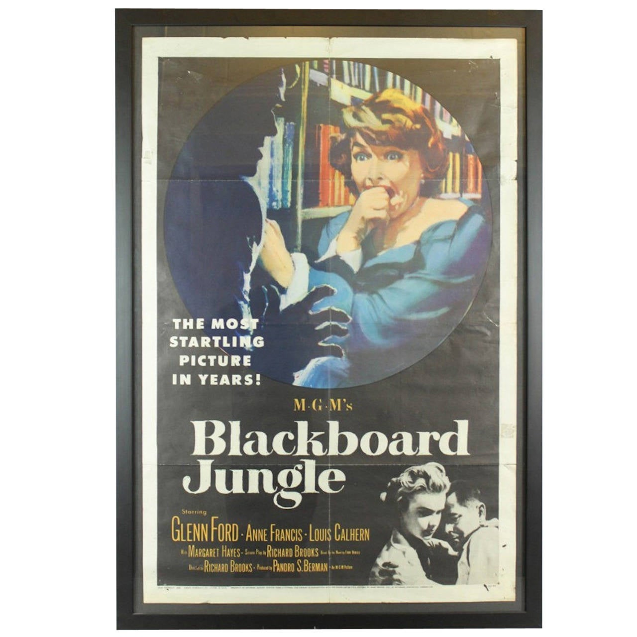 """Blackboard Jungle"" Original Vintage Movie Poster at 1stdibs"