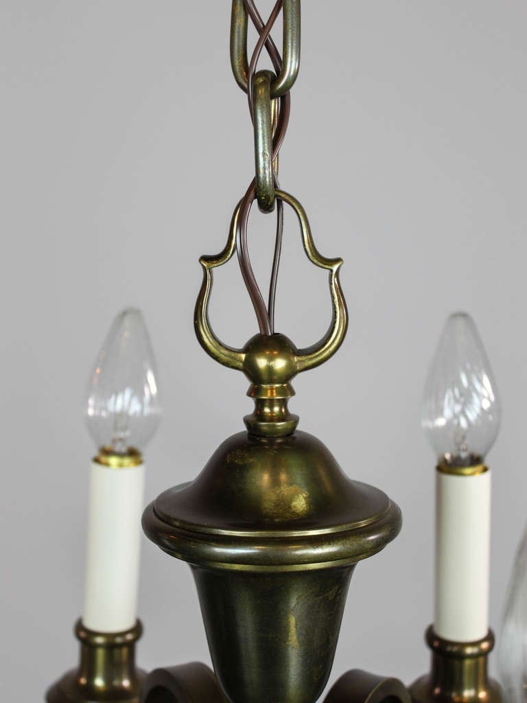 Colonial Revival Chandelier Six Light For Sale At 1stdibs