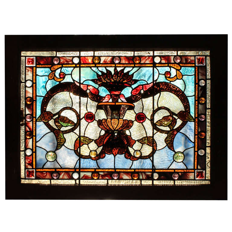 this small stained glass window panel is no longer available