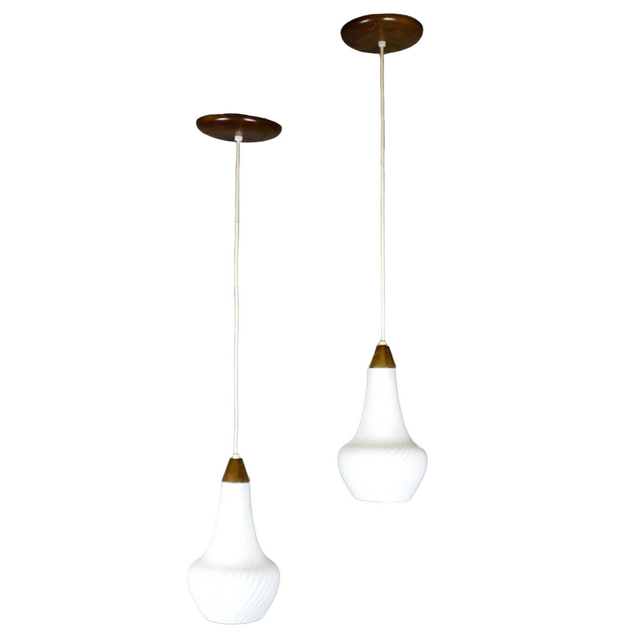 sc 1 st  1stDibs & Mid-Century Pendant Lights Two Available at 1stdibs azcodes.com