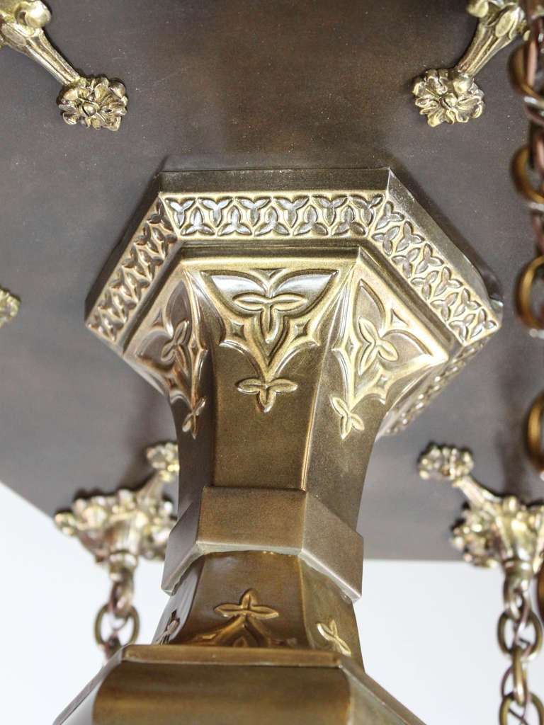 Mitchell Vance And Co Gothic Flush Mount 6 Light At 1stdibs