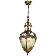 Figural Guilt Hall Lantern