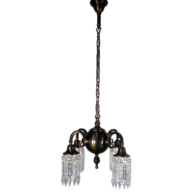 colonial arts and crafts style fixture at 1stdibs