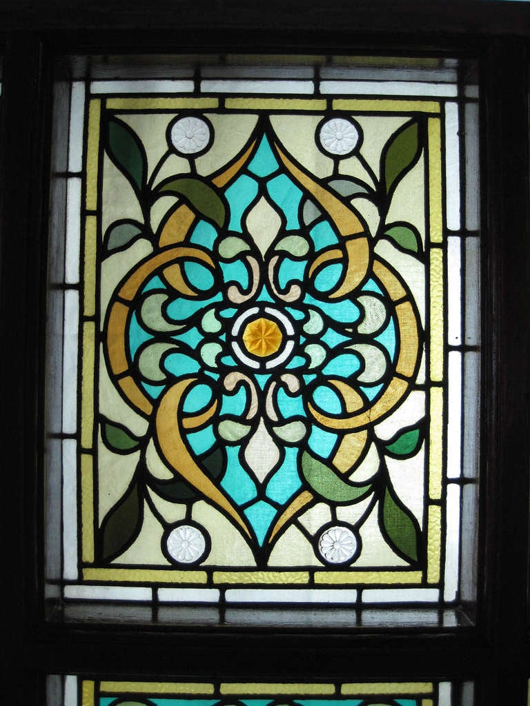 Hand Painted Stained Glass Windows For Sale At 1stdibs
