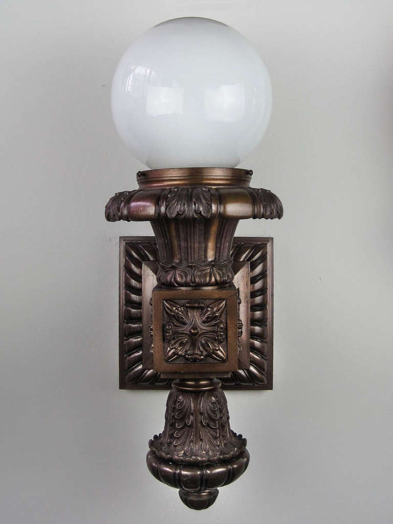 Wall Sconces In Bronze :