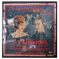 "Original Vintage Poster for ""The Turmoil,"" 1924"