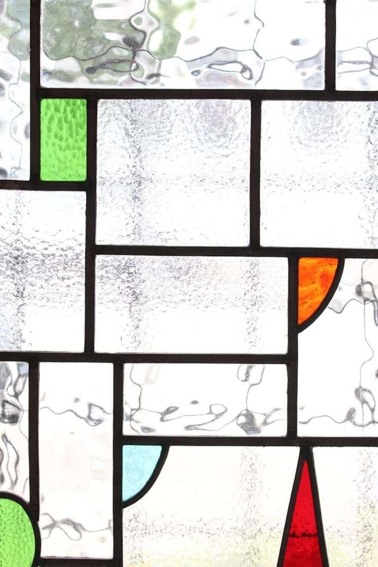 Castle Scene Stained Glass Window 5