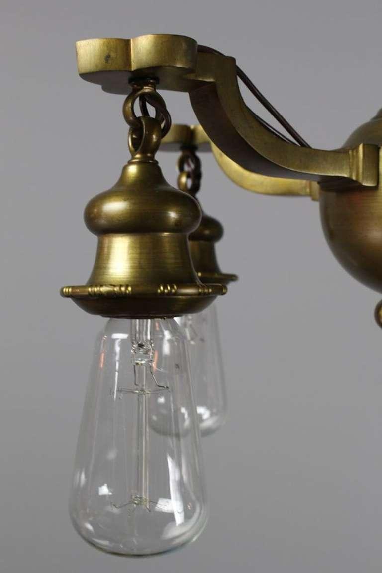 colonial revival bare bulb fixture for sale at 1stdibs. Black Bedroom Furniture Sets. Home Design Ideas
