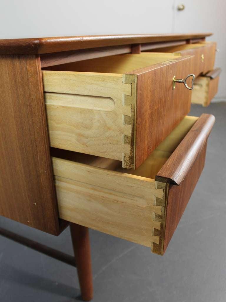 Mid-Century Modern Teak Desk image 3