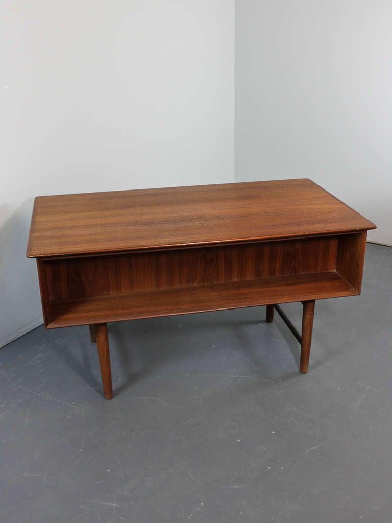 Mid-Century Modern Teak Desk image 6