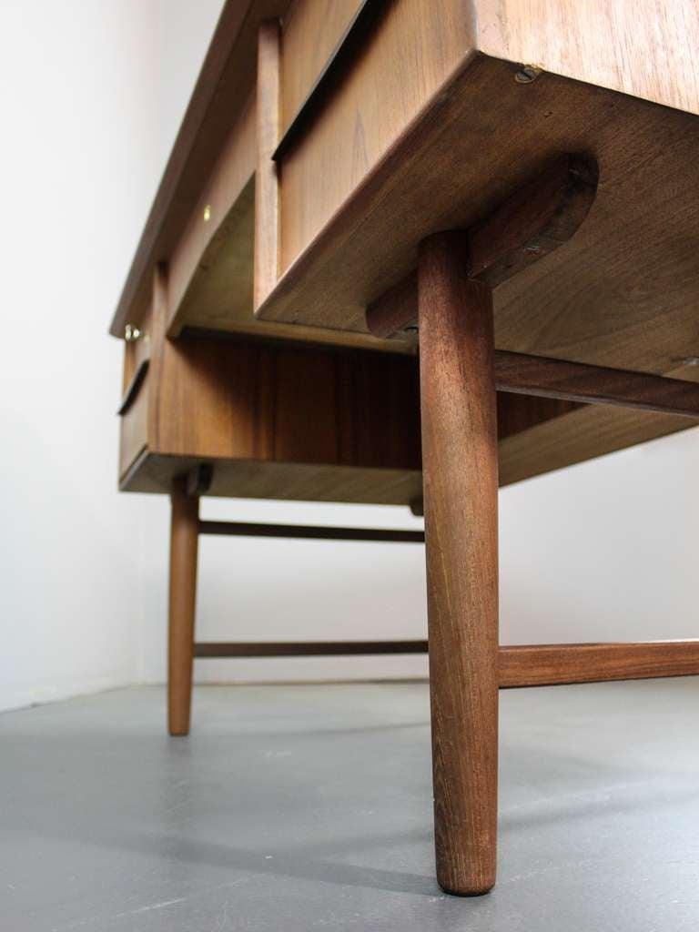 Mid-Century Modern Teak Desk image 9