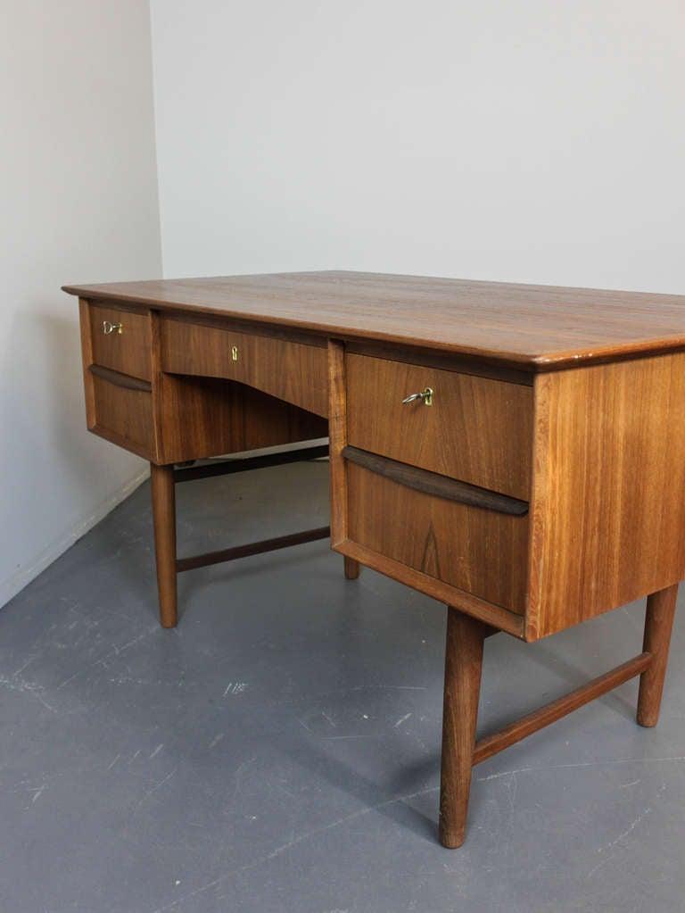 Mid-Century Modern Teak Desk image 10
