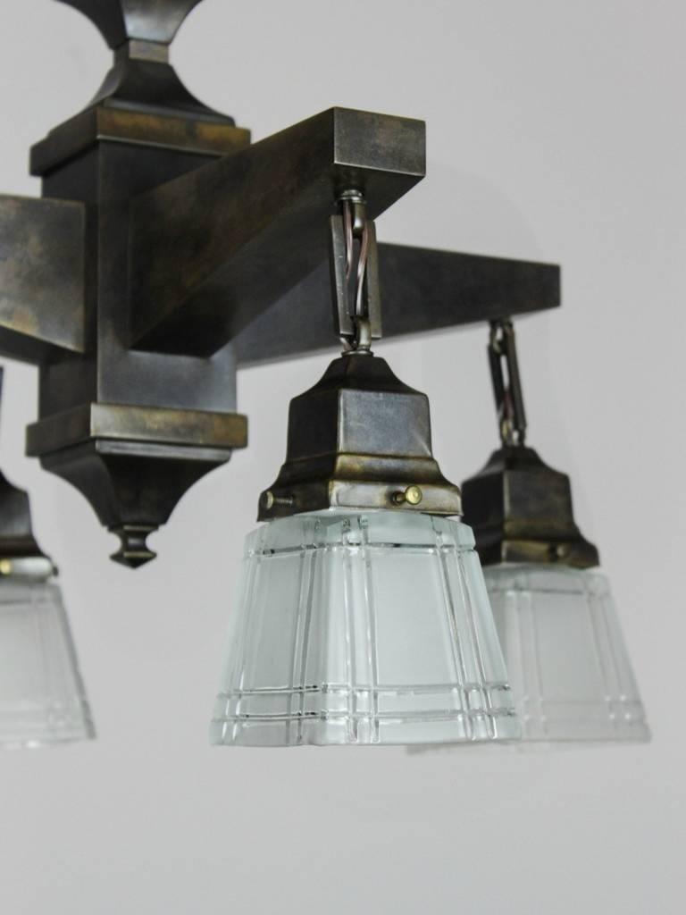 Mission Style Light Fixtures Four