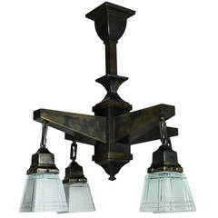 Piano Lamp By P E Guerin At 1stdibs