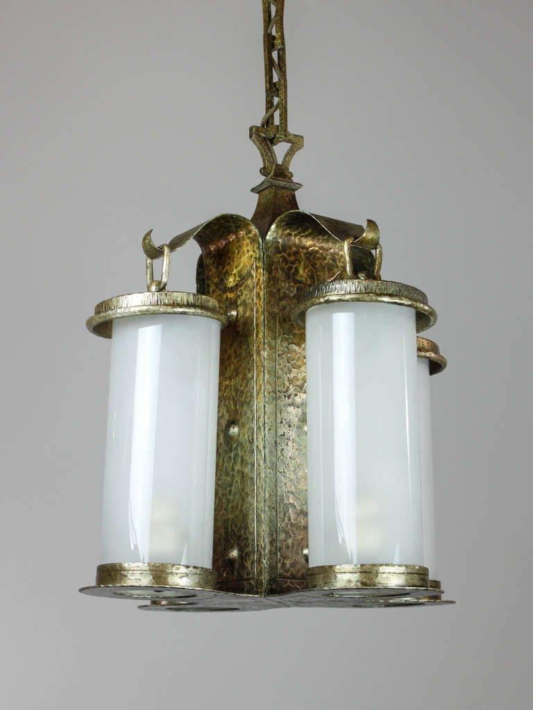 Arts And Crafts Lamp Canopy