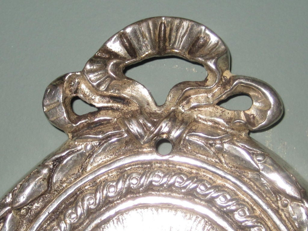 Silver Crystal Wall Sconces : Silver Plate and Crystal Wall Sconces at 1stdibs