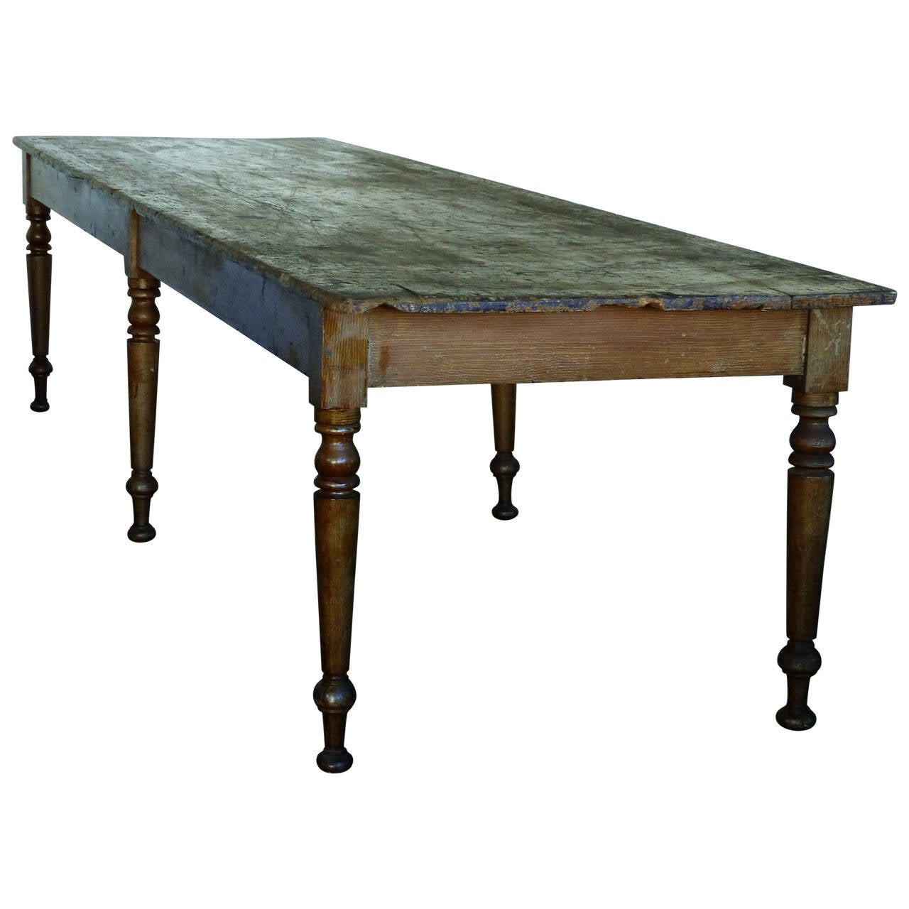 19th c 10 ft convent table at 1stdibs for 10 ft farmhouse table