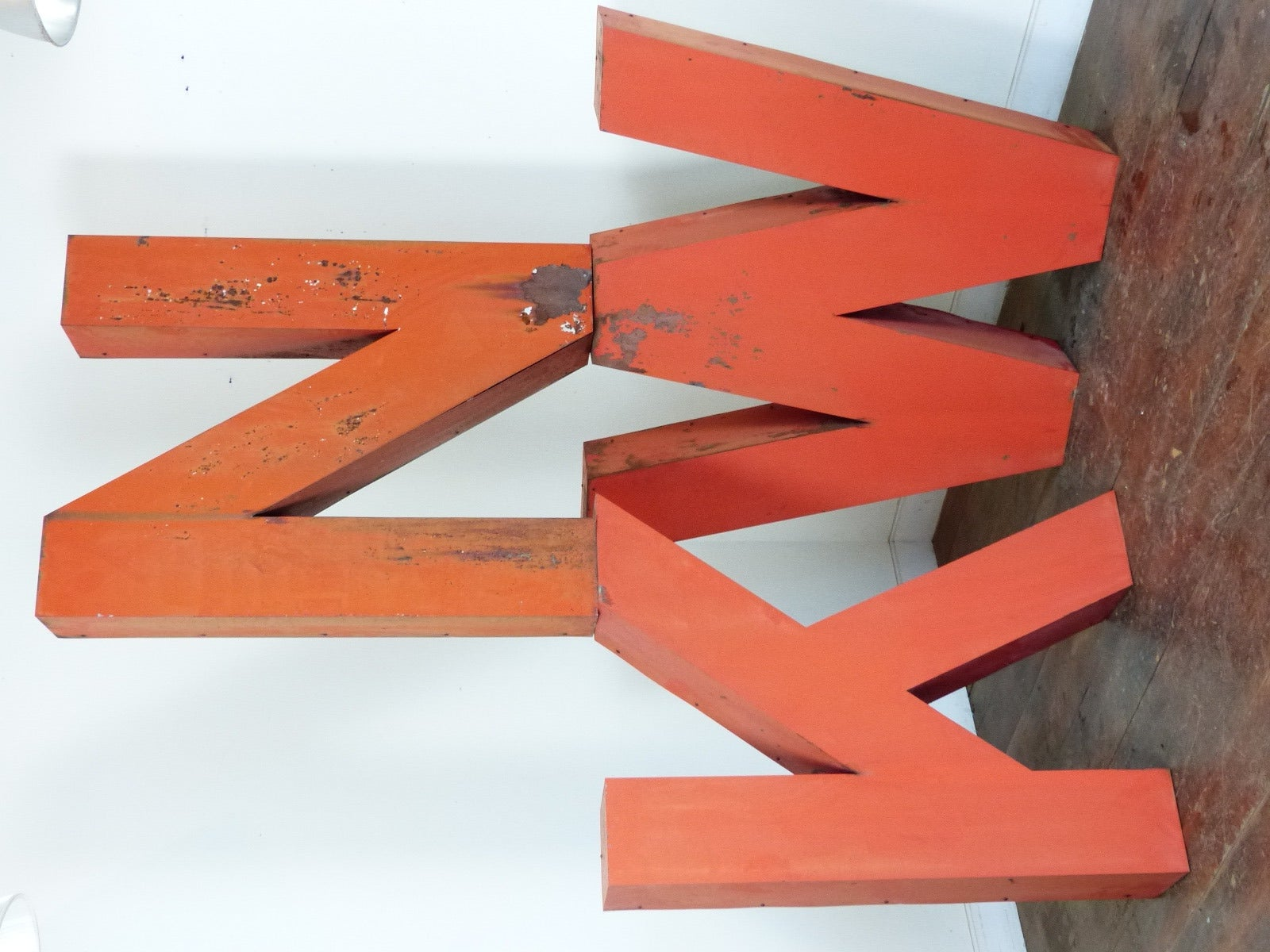 large metal letters for sale at 1stdibs With metal letters for sale