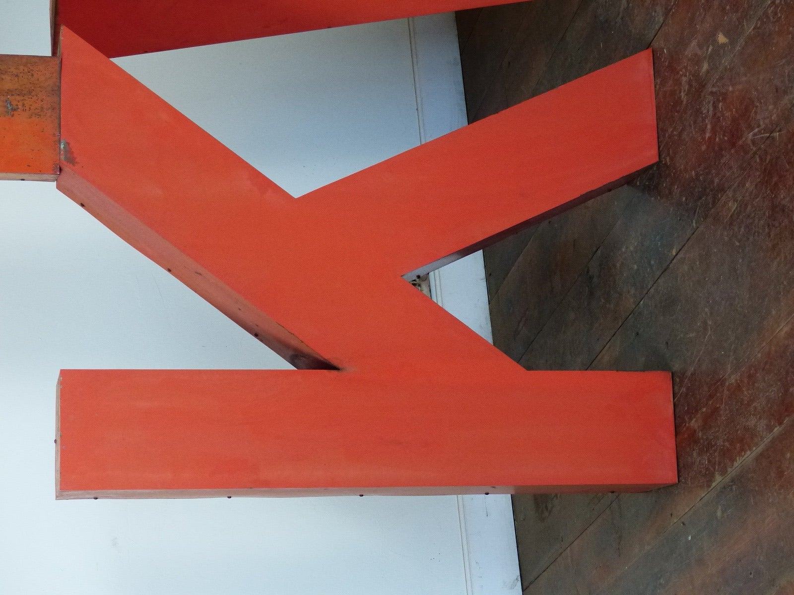 Canadian 1950s Era Large Metal Letters For Sale