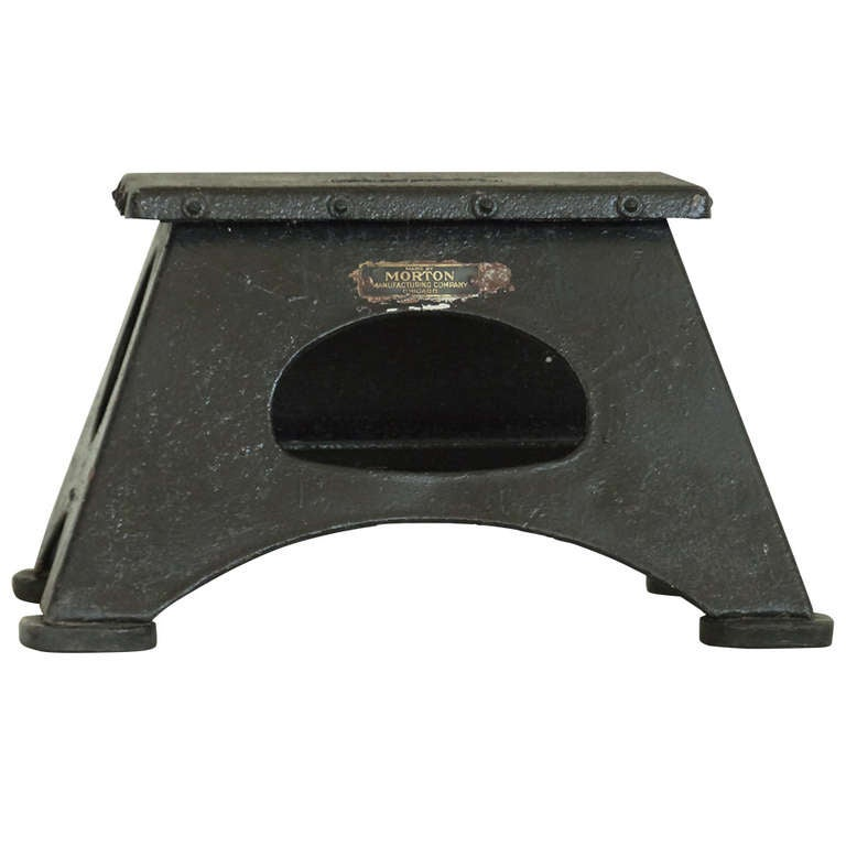 Cast Iron Conductor : Train conductors stool at stdibs