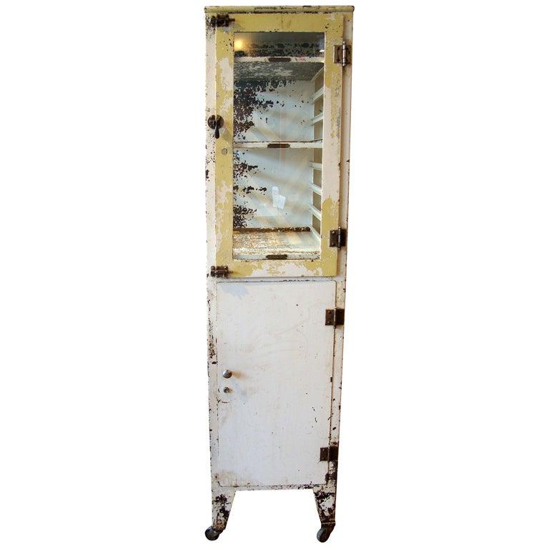 medical cabinet at 1stdibs. Black Bedroom Furniture Sets. Home Design Ideas