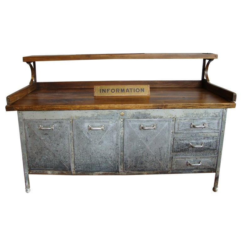 Industrial Kitchen Prep Table: Kitchen Prep Table At 1stdibs