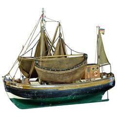 Model of the North Sea Trawler Ship