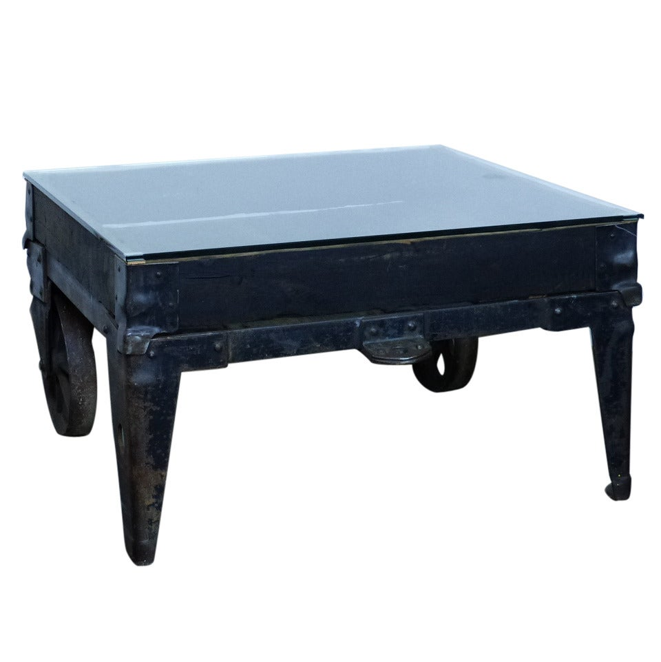 This Industrial Coffee Table Is No Longer Available
