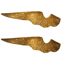 Pair Of Guilded Wings