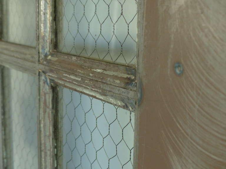Steel Glass Doors Doors/wire Mesh Glass