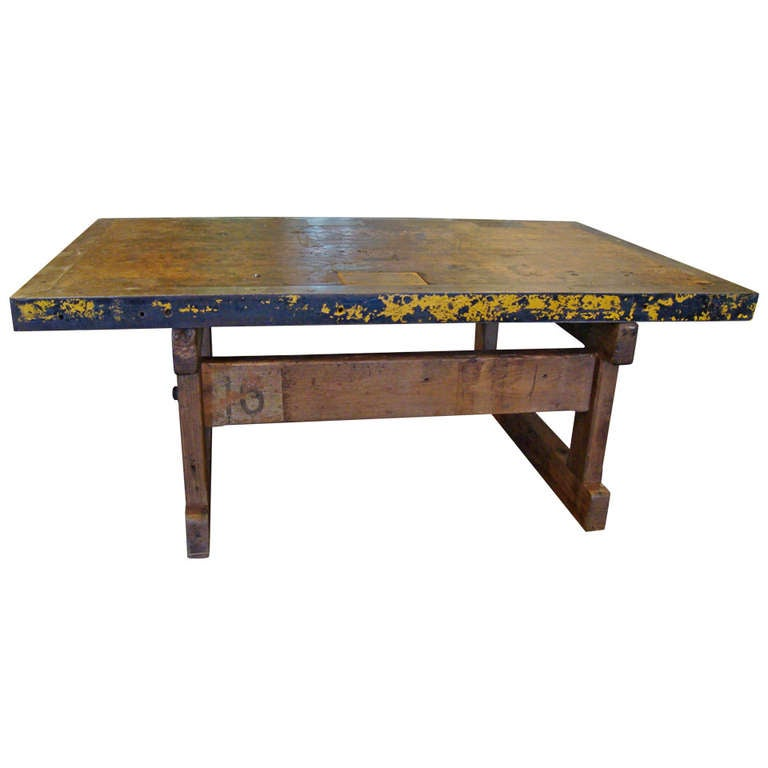 Industrial Coffee Table Vancouver: Industrial Style Coffee Table At 1stdibs